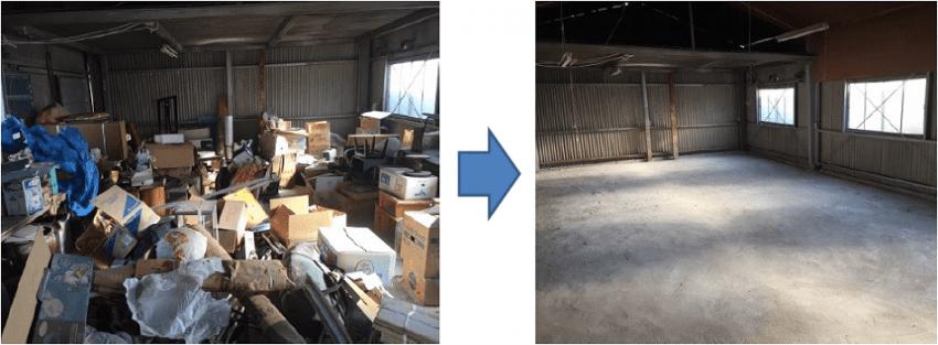 倉庫ゴミ回収は東京で格安