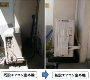 東京でエアコン取外し処分
