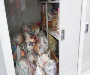 ゴミ回収 物置の解体