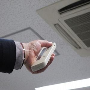 東京でエアコンの試運転