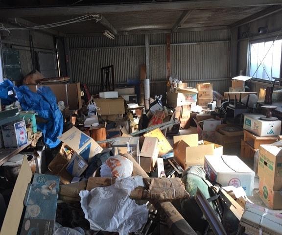 倉庫内粗大ごみ回収
