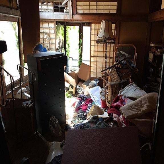 ゴミ部屋回収なら東京で最安値