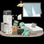 東京のゴミ部屋ゴミ屋敷│片付け断捨離作業なら安く丁寧な業者