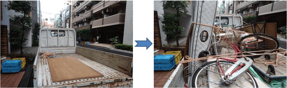 引越しゴミ回収東京都江東区