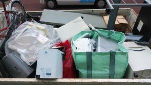 東京都立川市の事務ゴミ回収