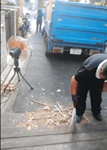 武蔵野市の不用品回収業者の片付け作業動画・3