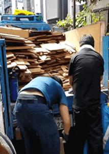 武蔵野市の不用品回収業者の片付け作業動画・2