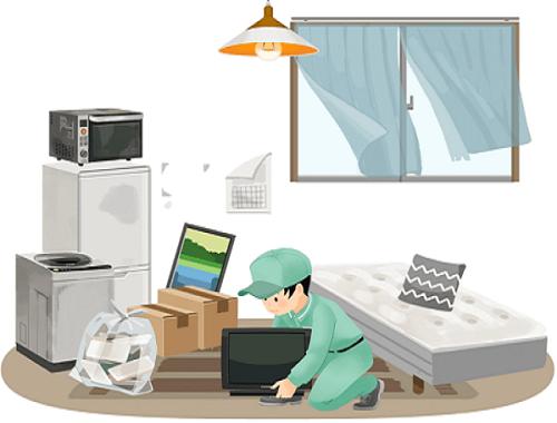 東京で格安の不用品回収や遺品整理