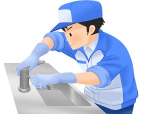 武蔵野市の便利屋が修理作業中